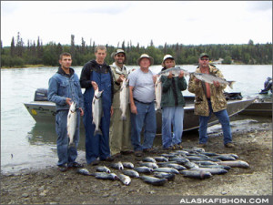 Alaska Red salmon Fishing